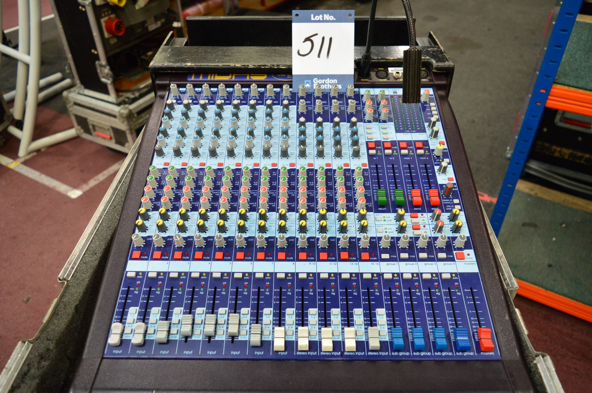 Lot 511 - Midas, Venice 160 16 channel analogue mixing conso