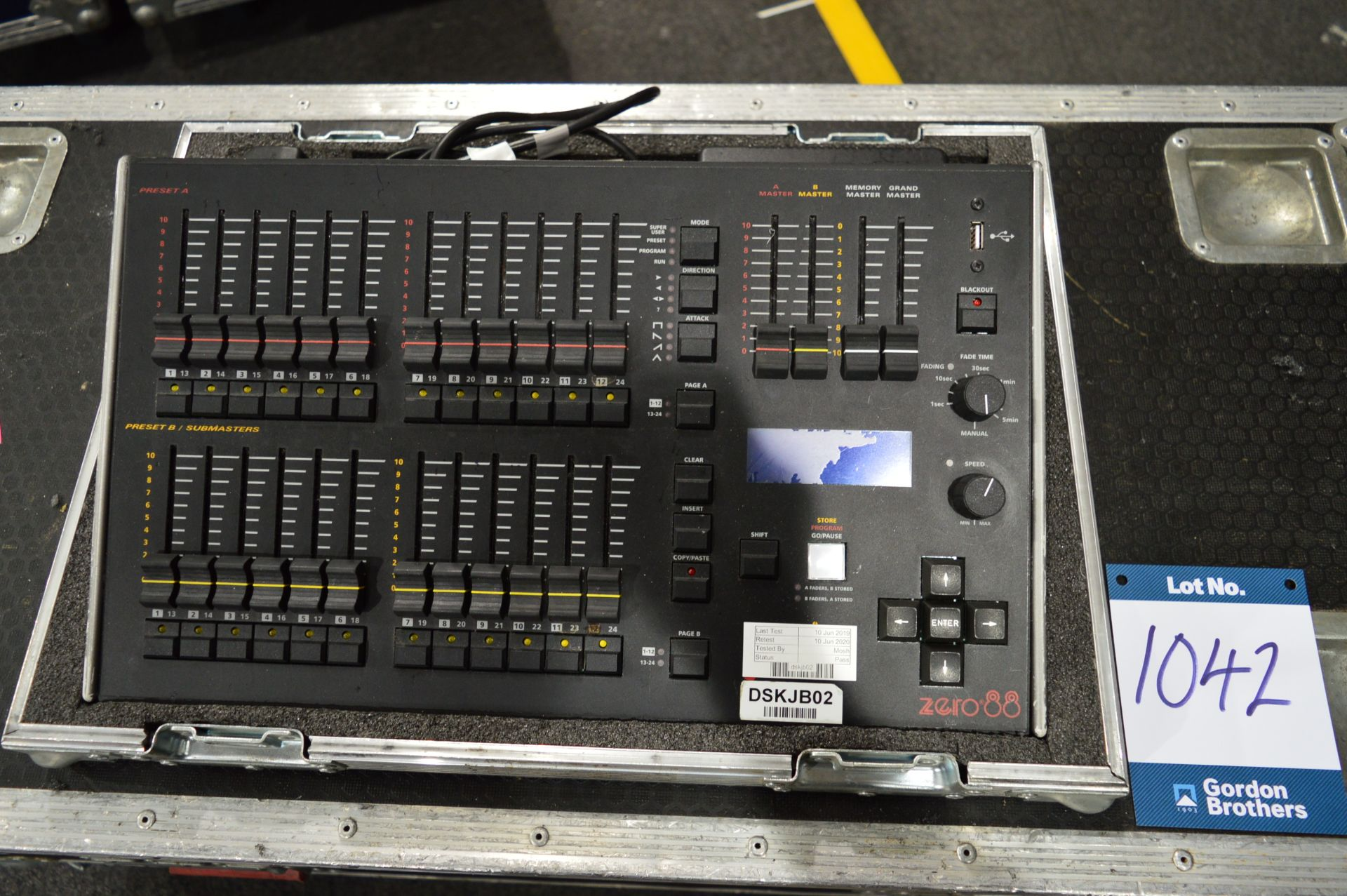 Lot 1042 - Zero88, Jester 12/24 lighting console controller,
