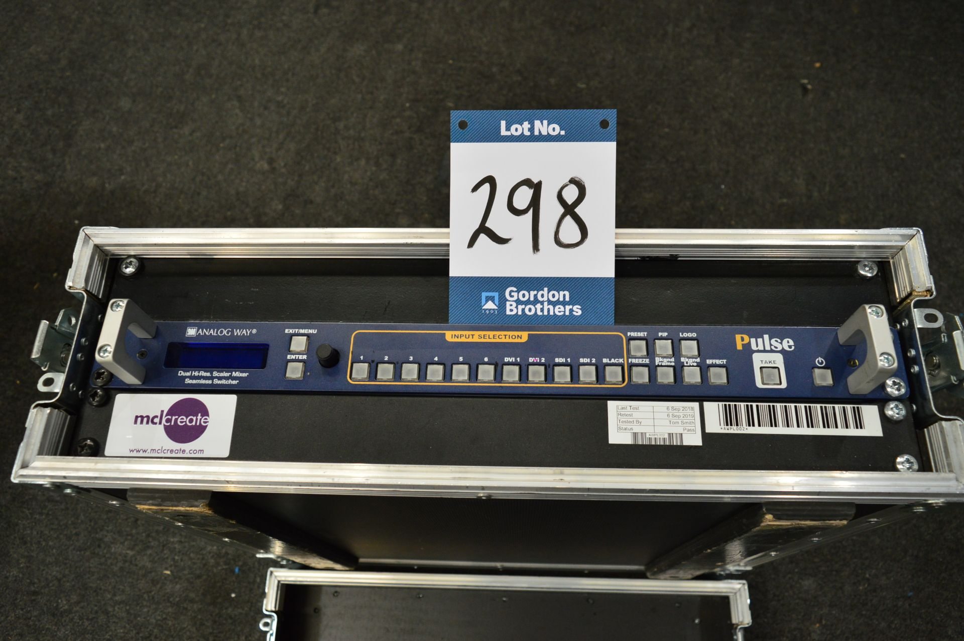 Lot 298 - Analog Way, PLS300 R/M dual high resolution scaler