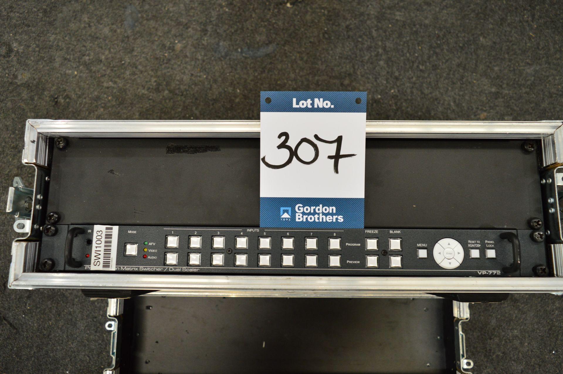 Lot 307 - Kramer, VP-772 presentation matrix switcher/dual s