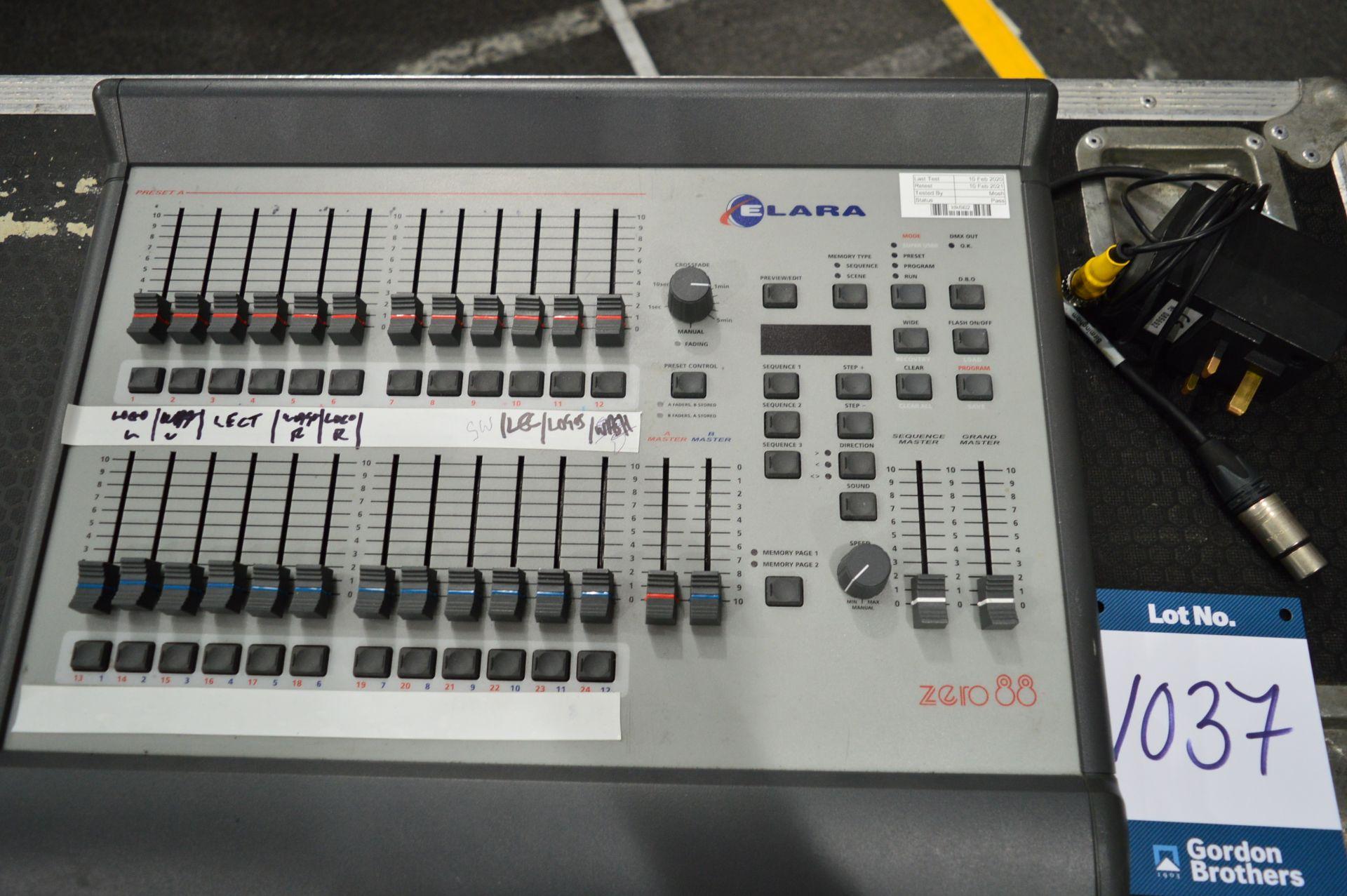 Lot 1037 - Zero88, Elara 12/24 lighting console controller, S