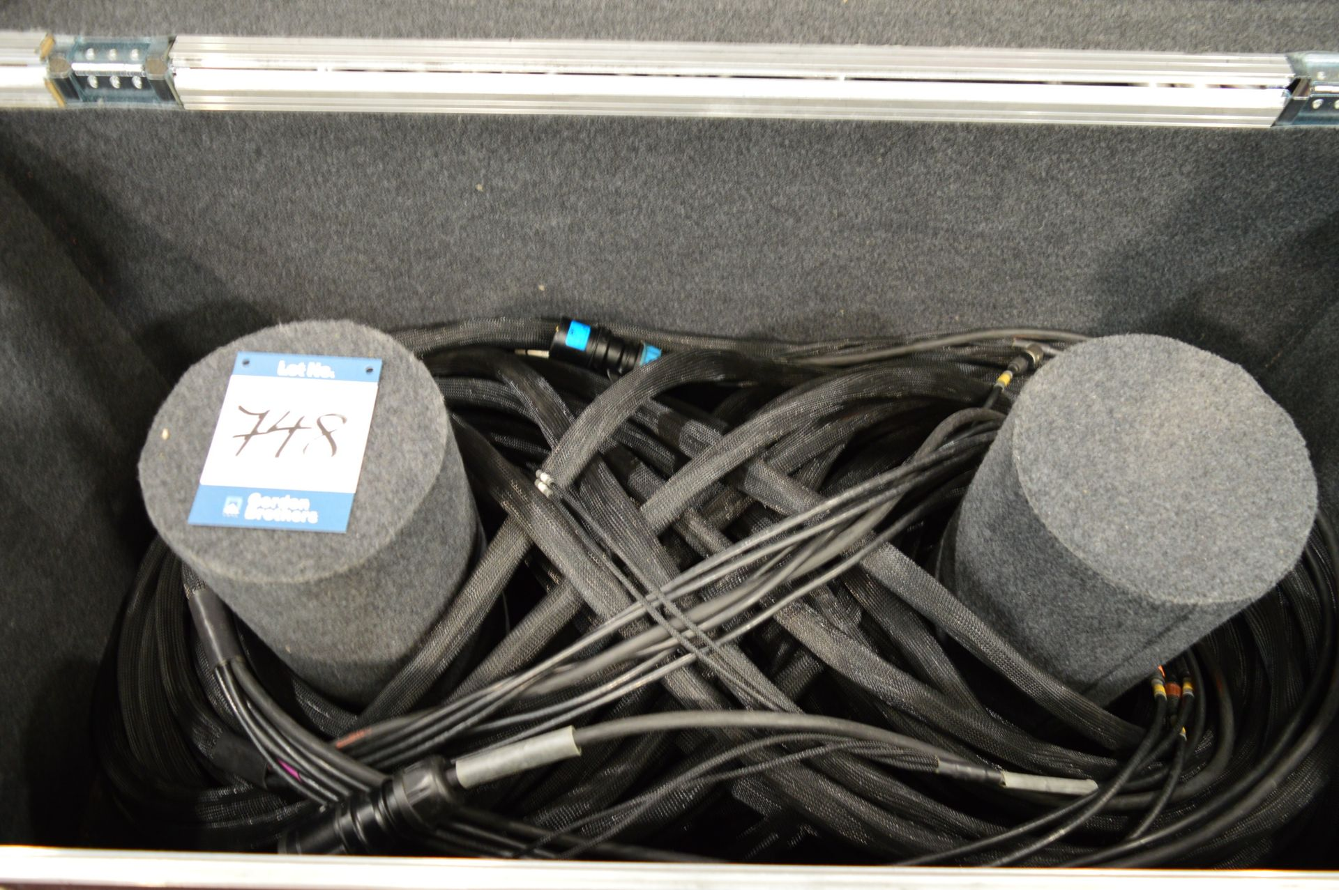 Lot 748 - CAT5, multi core cabling kit suitable for use with