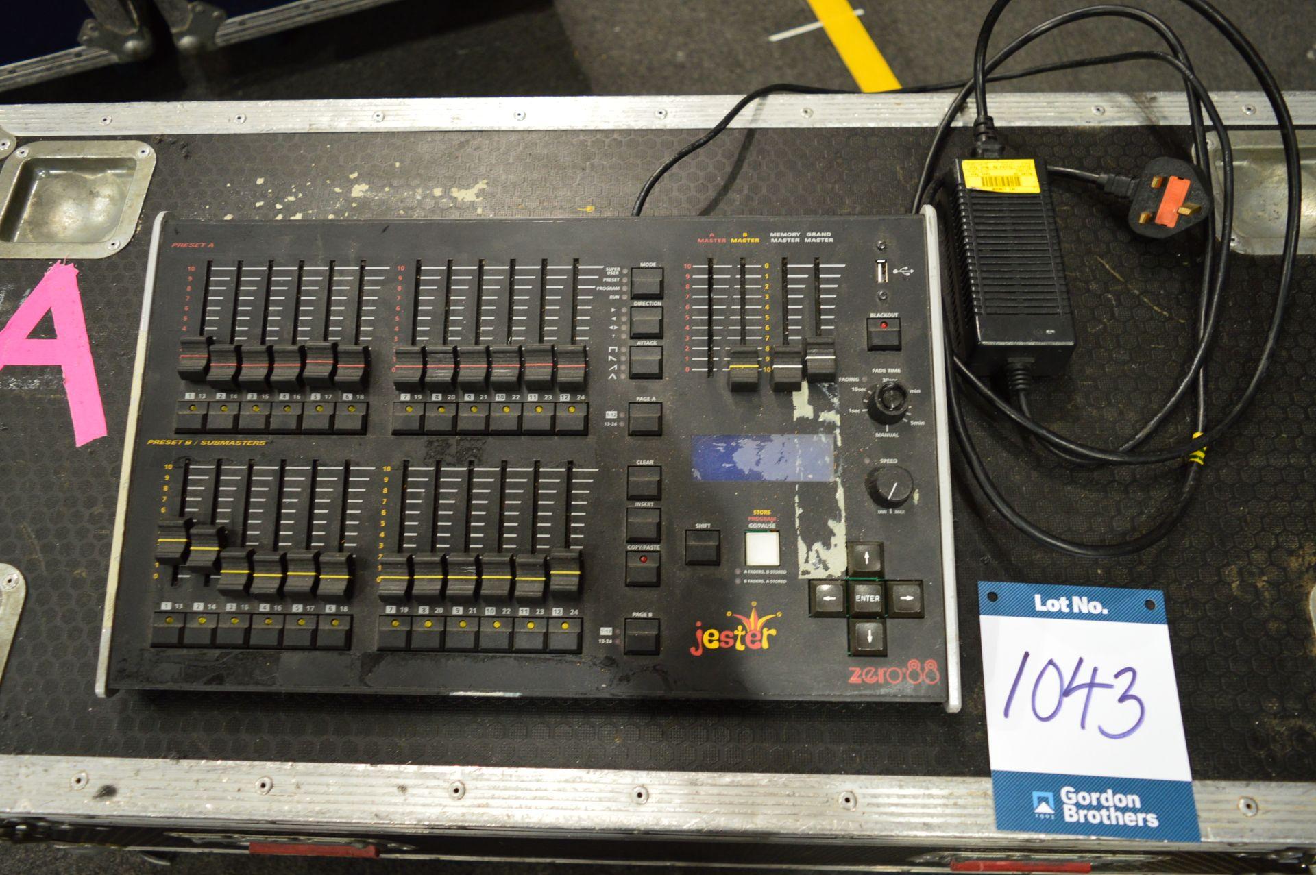 Lot 1043 - Zero88, Jester 12/24 lighting console controller,