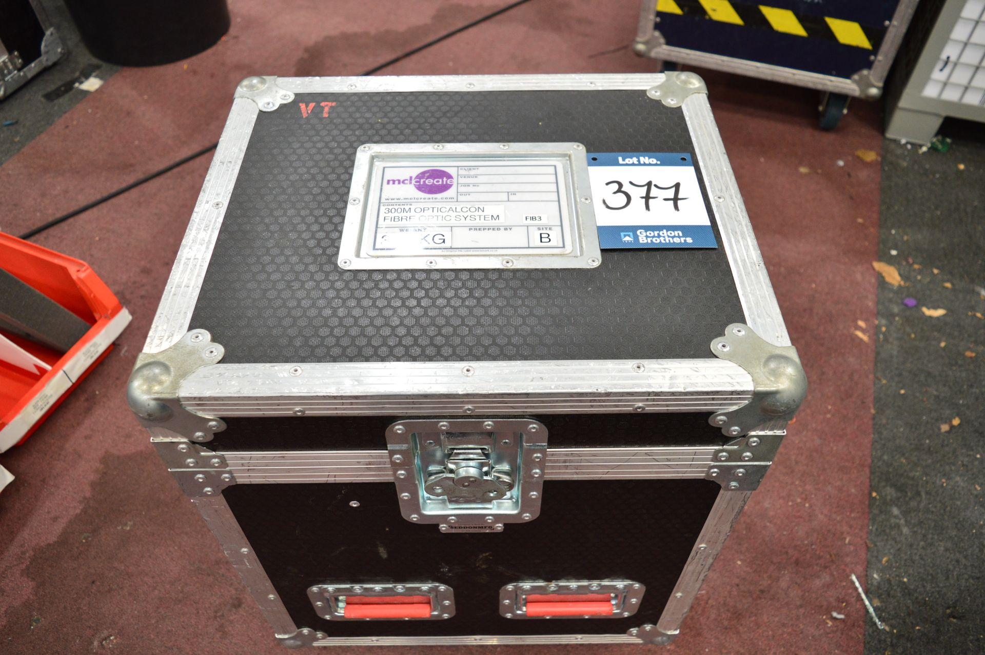 Lot 377 - NuTrek, Optic Alcon fibre optic system comprising