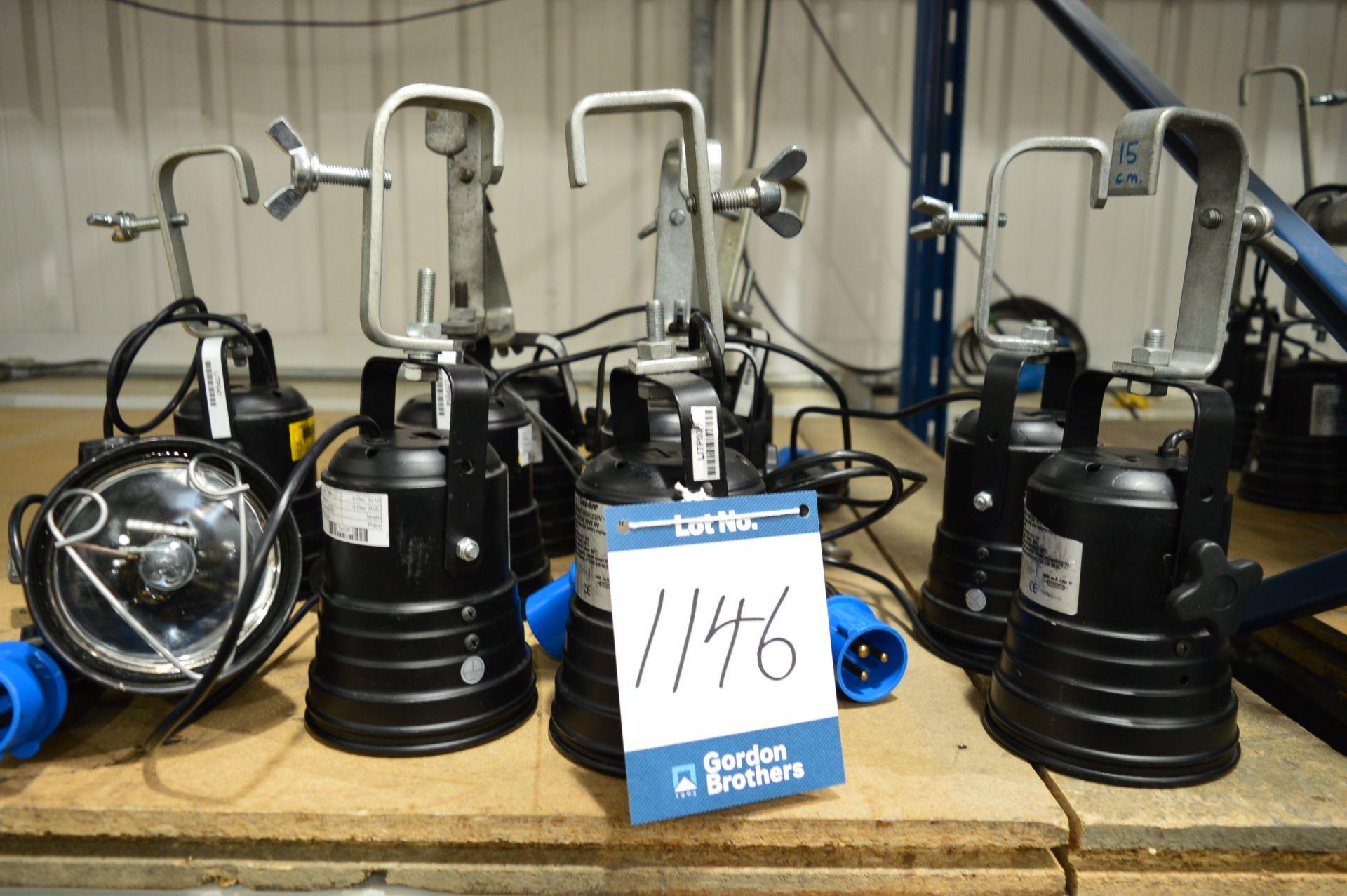 Lot 1146 - 10x No. Encore/DTS P36 short evo 230v lamps with b
