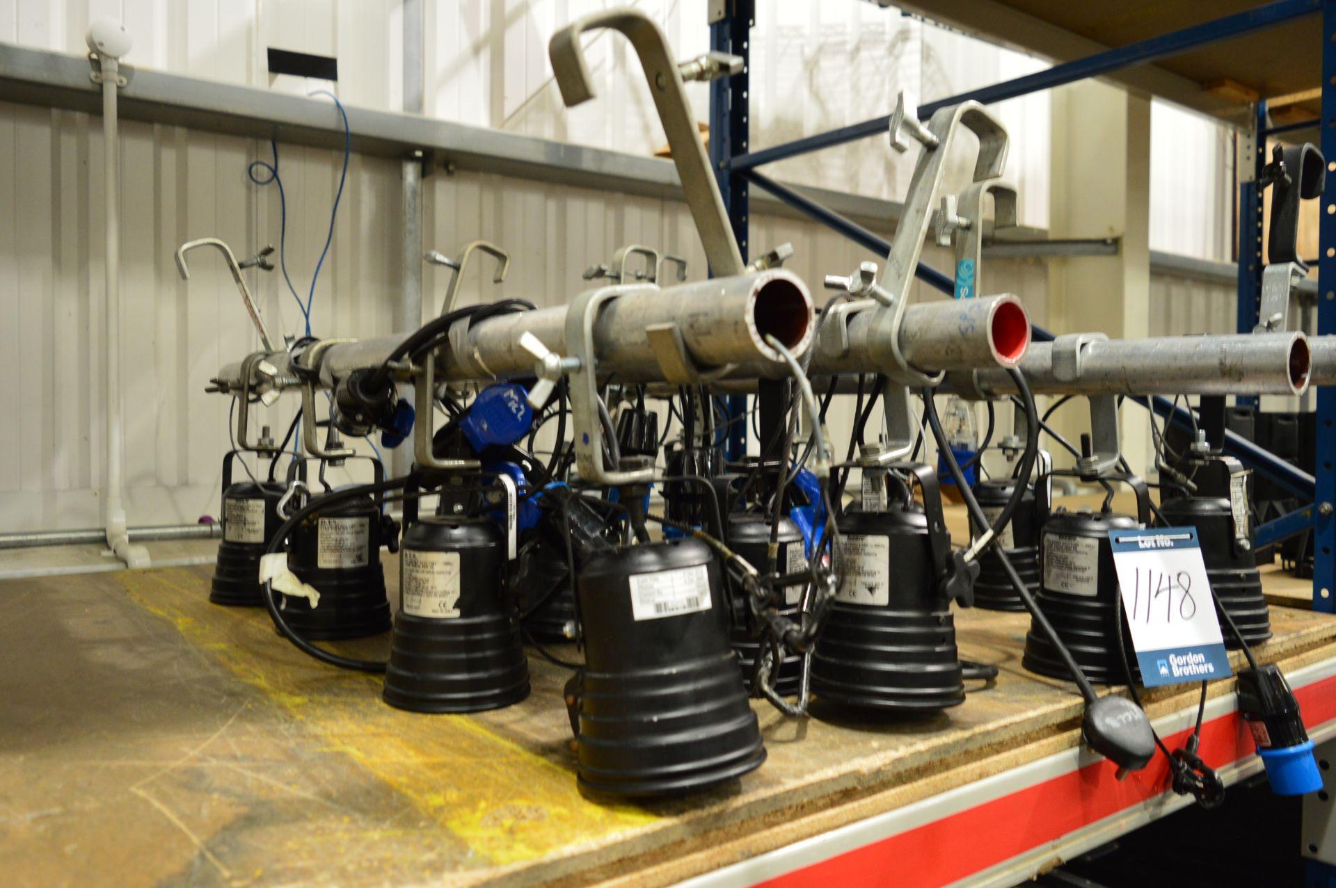 Lot 1148 - 16x No. Encore/DTS P36 short evo 230v lamps mounte