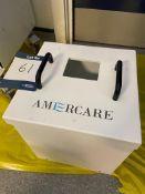 Amercare lead lined 'sharps' shield bin