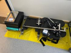 Selection of operating theatre bed accessories and extensions including approx. 8x No. bean bags