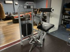 Life Fitness Low Back Extension Machine 15-300 lbs