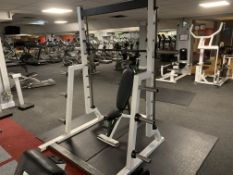 Smiths Chest and Shoulder Machine with Bench