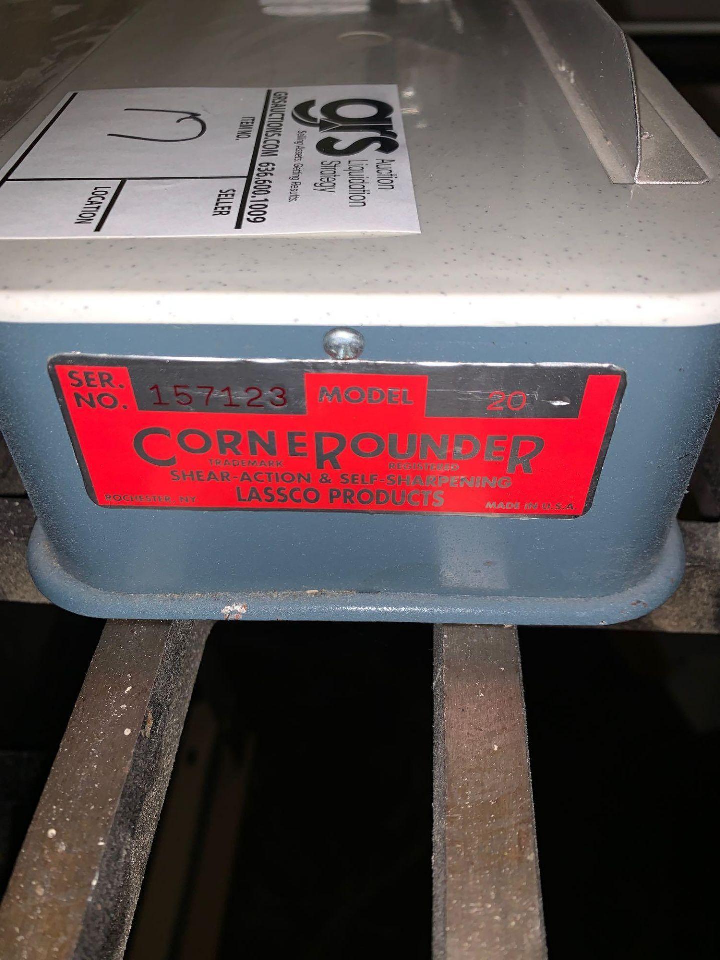 Lot 17 - Lassco Model 20 Corner Rounder