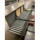 Pallet of (4) Spare Conveyor Roller Line Sections
