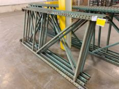 (4) Pallet Rack Uprights