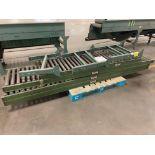 (4) Logan Roller Conveyors w/ (3) Extra Conveyor Line Adjustable Leg Attachments