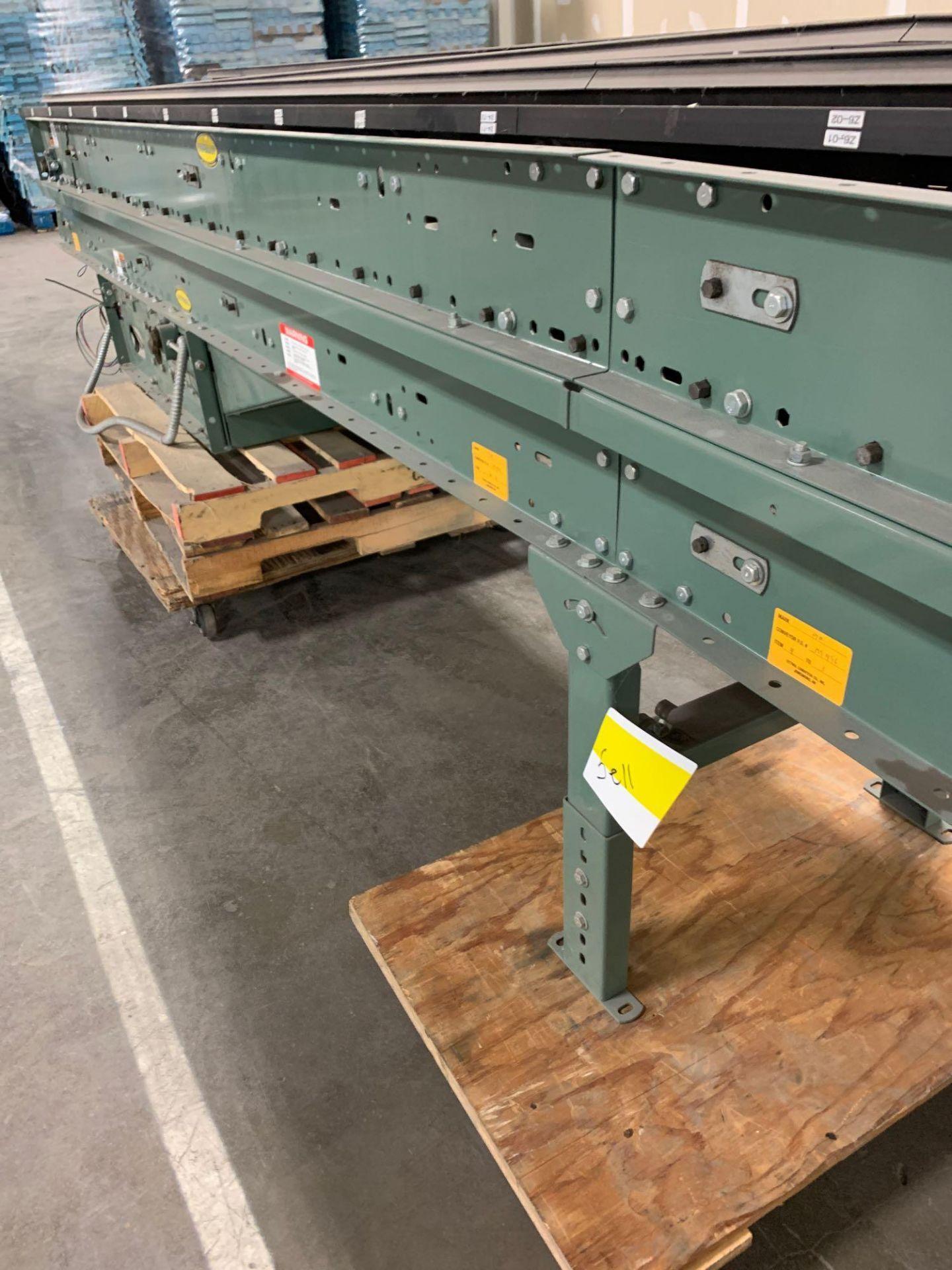(2) Hytrol 20' Conveyor Line Section - Image 3 of 6
