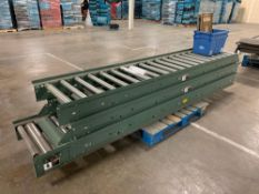 (3) Hytrol 10' Conveyor Line Sections
