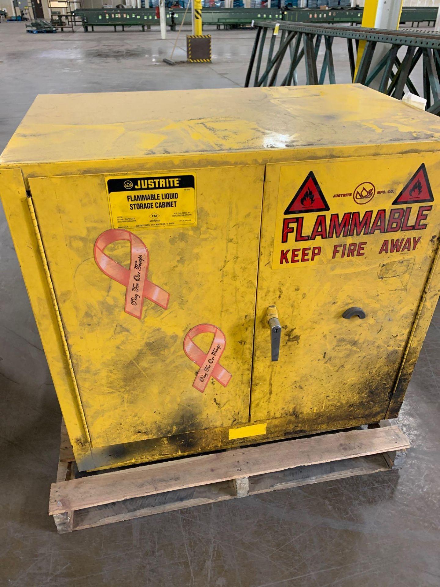 Metal Flammable Cabinet - Image 2 of 4