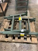 Pallet of (3) Extra Conveyor Line Adjustable Leg Attachments