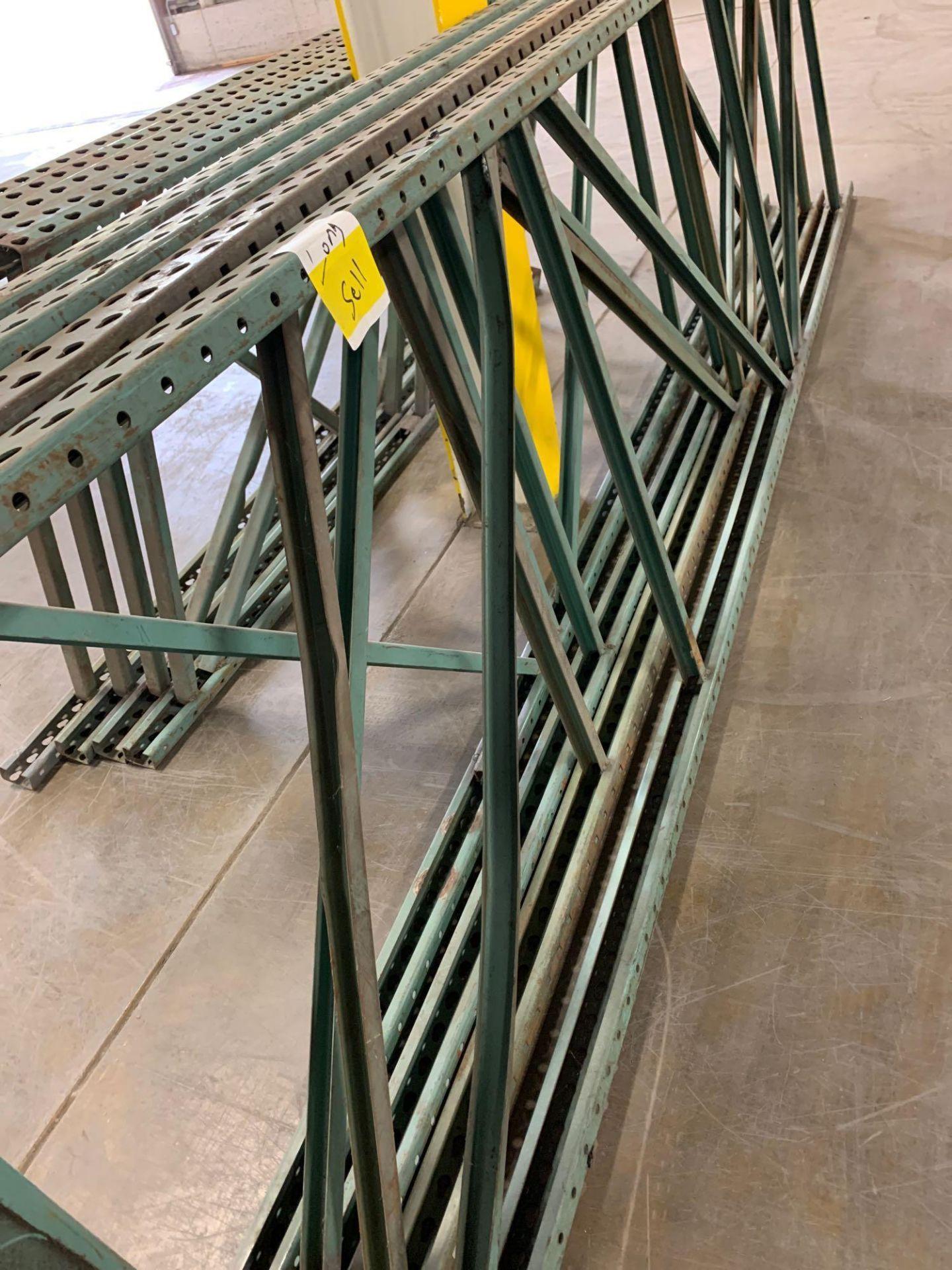 (4) Pallet Rack Uprights - Image 3 of 3
