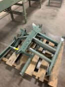 Pallet of (4) Extra Conveyor Line Adjustable Leg Attachments