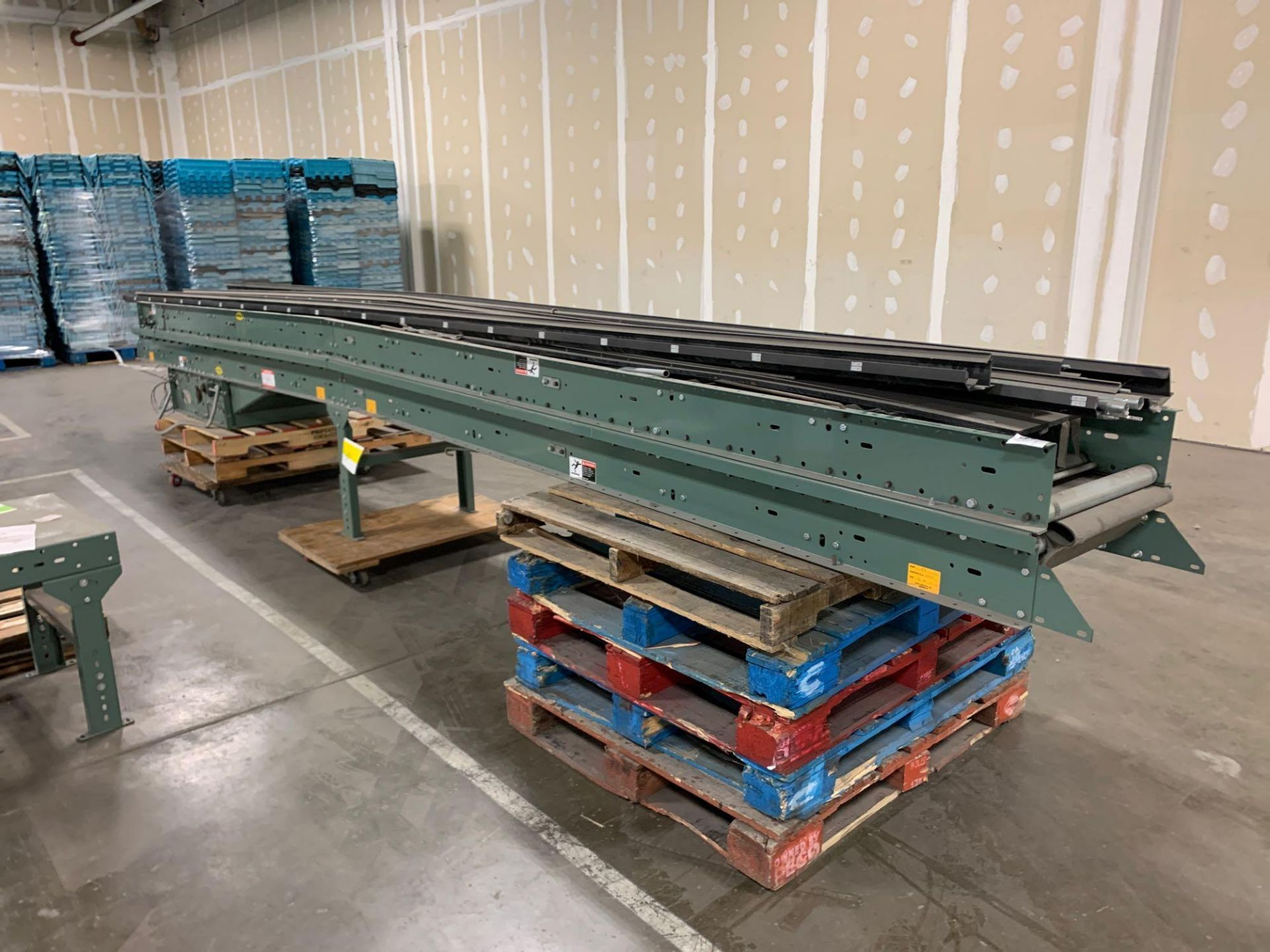 (2) Hytrol 20' Conveyor Line Section