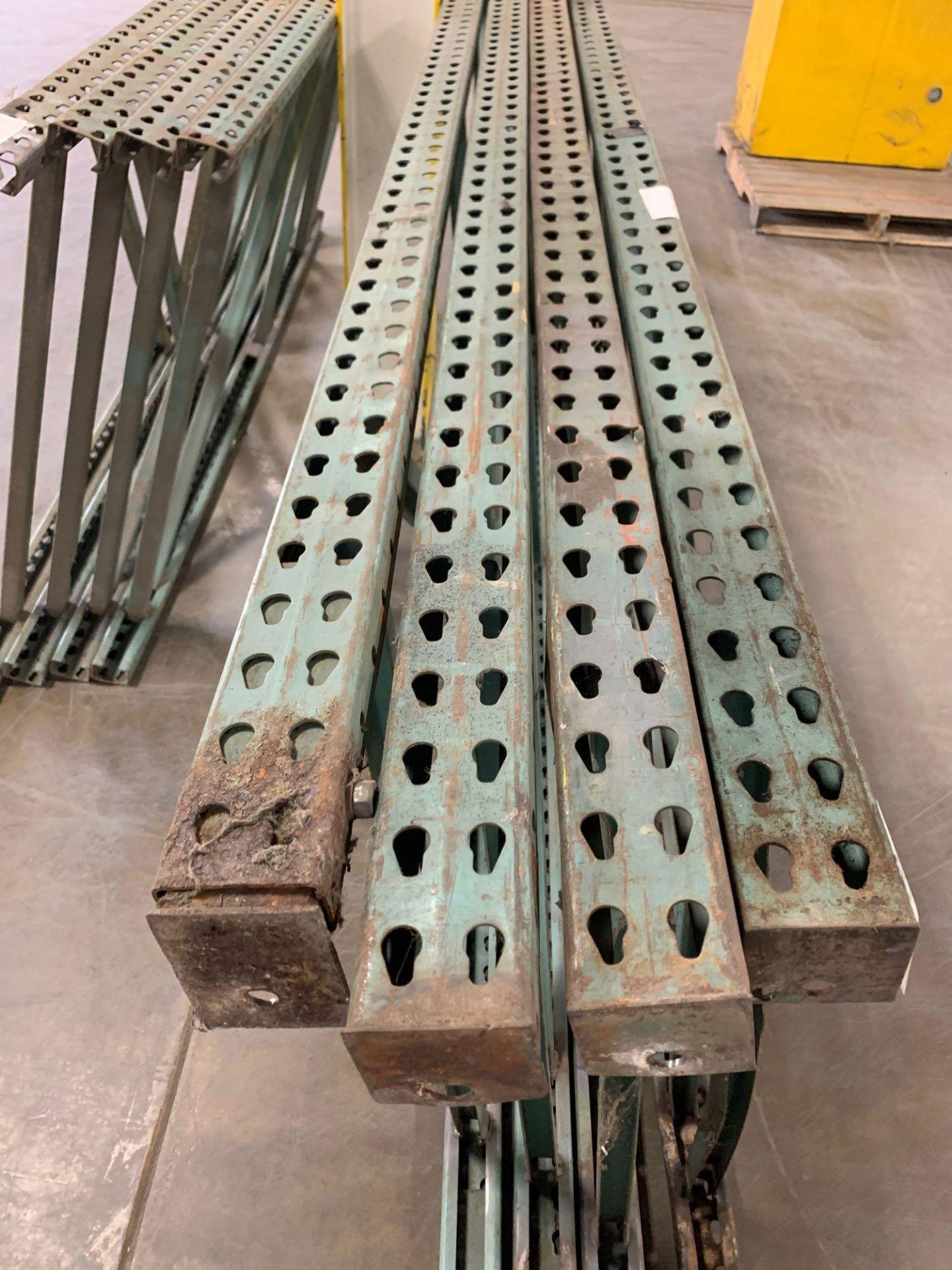 (4) Pallet Rack Uprights - Image 2 of 3