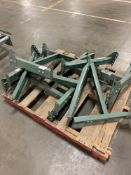 Pallet of (6) Hytrol Conveyor Line Adjustable Bases