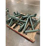 Pallet of (6) Hytrol Conveyor Line Adjustable Bases