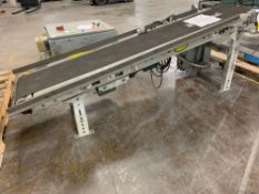 Hytrol 7' Belt Driven Conveyor Line Section