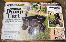Heavy duty dump cart *new & unused*