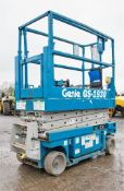 Genie GS1930 battery electric scissor lift Year: 2002 S/N: 54257 Recorded Hours: 516 0883-0005