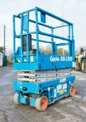 Genie GS1930 battery electric scissor lift Recorded Hours: 474 0883-7002