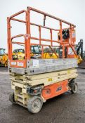 JLG 1930ES battery electric scissor lift Year: 2005 S/N: 5787 Recorded Hours: 355 WOOLPE12