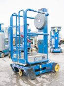Power Tower Peco Lift manual personnel lift access platform Year: 2013 S/N: 6311013G 08PV0051