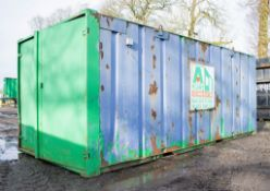 21 ft x 9 ft steel store site unit A646368