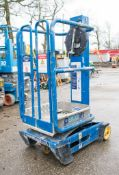 Power Tower Peco Lift manual personnel lift access platform 08PV0030