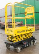 Youngman Boss X3X push around battery electric 5.2 metre sissor lift access platform Year: 2012 S/N: