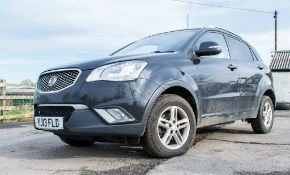 Ssangyong Korando CSX AWD light 4x4 utility good vehicle. Registration number: YJ13 FLD Date of