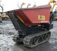 Honda TD500 HL petrol driven walk behind hi-tip tracked dumper Year: 2007 S/N: 1644 P3081 ** No