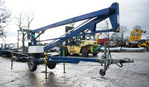 Nifty 120 ME fast tow articulated boom lift access platform Year: 2006 S/N: 015149 08660045