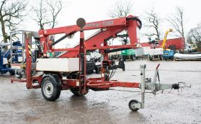 Nifty 120 TE fast tow articulated boom lift access platform Year: 2005 S/N: 0413653 WOOLPF3