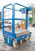 Power Tower Nano battery electric mobile personnel hoist access platform 08PN0009