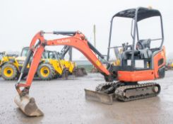 Kubota KX 015-4 1.5 tonne rubber tracked mini excavator Year: 2011  S/N: 55641 Recorded Hours:
