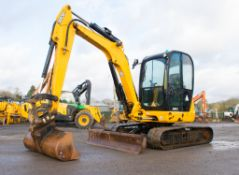 JCB 8055 RTS 5.5 tonne rubber tracked excavator Year: 2013 S/N: 2060501 Recorded Hours: 2294