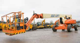 JLG Lift M600JP battery electric articulated boom access platform Year: 2007  S/N: 0300099259