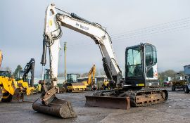 Bobcat E80 8 tonne rubber tracked excavator Year: 2012 S/N: AET312518 Recorded Hours: 2934 blade,