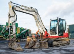 Takeuchi TB285 8.5 tonne rubber tracked excavator Year: 2013 S/N: 185000689 Recorded hours: 6505