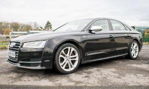 Audi S8 V8 TFSi Quattro Auto 4 door saloon car Registration Number: MW65 RXD Date of Registration: