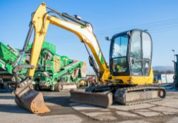 JCB 8050 RTS 5 tonne rubber tracked excavator Year: 2013 S/N: 1741957 Recorded Hours: 2660 blade,