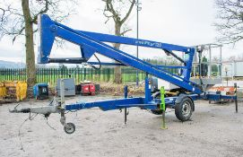 Nifty 120ME battery electric fast tow articulated boom lift access platform Year: 2005 S/N: 12575 **